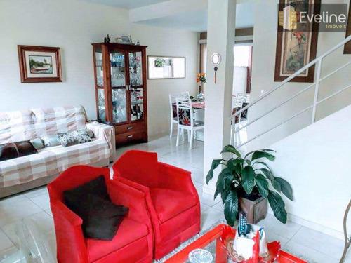 Venda - Casa De Condomínio Vila Oliveira Com 3 Dms - Mogi - V585