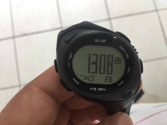 Relógio De Pulso Nike Triax 50 Laps Preto Funciona 100%