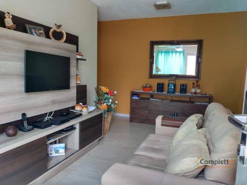 Apartamento Com 1 Dormitório À Venda, 54 M² Por R$ 165.000 - Taquara. - Ap0292