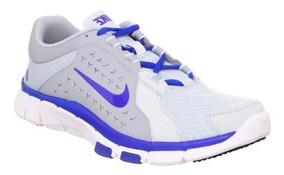 Nike Flex Supreme Tr Cinza Azul - Original - Bx