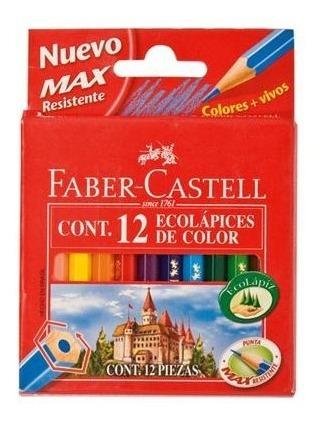 Lapices Cortos  Faber- Castell