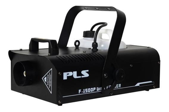 Maquina De Fumaça Pls F-1500p Dmx 1500p 220v + Nf + Garantia - Com Nota Fiscal E Garantia De 2 Anos Proshows!