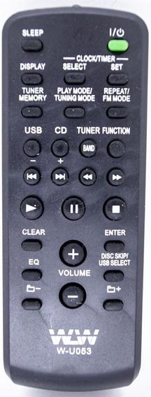 Controle Remoto Som De Sony Ref:u053