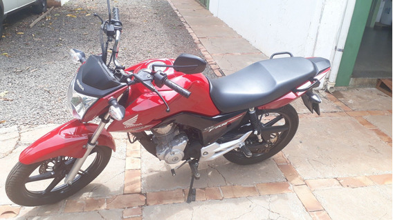 Moto Honda Cg 160 Fan Esdi Vermelha