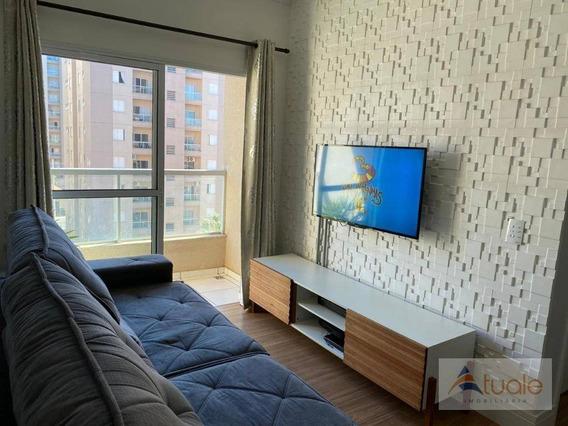 Apartamento Com 2 Dormitórios À Venda, 57 M² Por R$ 230.000,00 - Condomínio Portal Dos Cristais - Hortolândia/sp - Ap7100