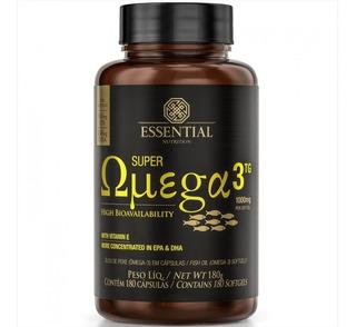 Super Ômega 3 Tg 1000mg 180 Caps Oferta Essential Nutrition