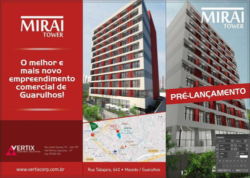 Sala, Macedo, Guarulhos - R$ 189 Mil, Cod: 3655 - V3655