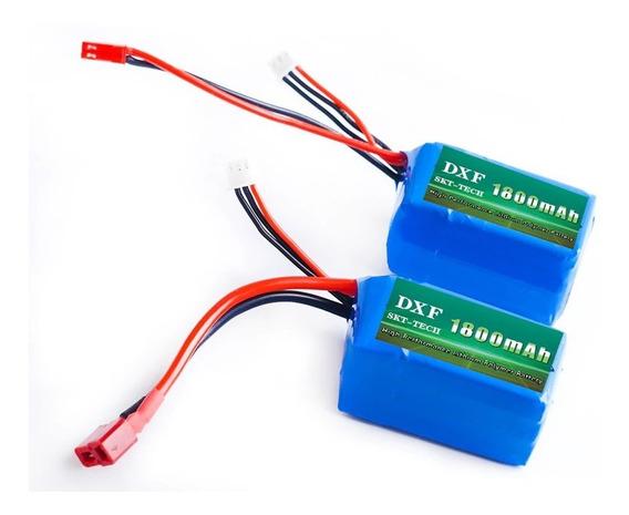 Bateria 7.4v - 1800 Mah Wltoys A959 A969 A979 K929 Plug Jst