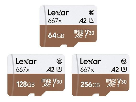 Lexar Microsd Tf Cartão De Memória Com 100mb/s -128gb