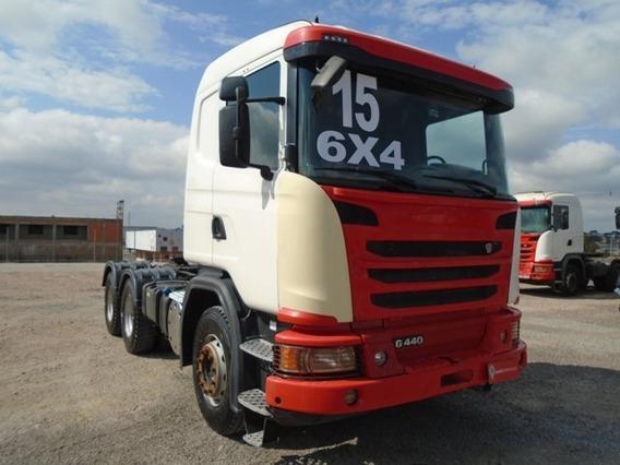 Scania G 440 6x4 2015/2016 Bug Pesado 346.869km