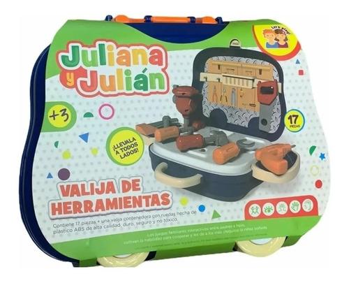 Valija De Herramientas Accesorios Juliana Y Julian Edu Full