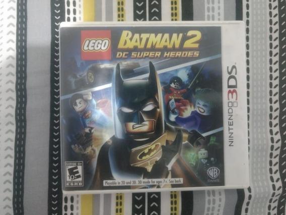 Lego Batman 2 Dc Super Heroes 3ds Mídia Física - Semi Novo!