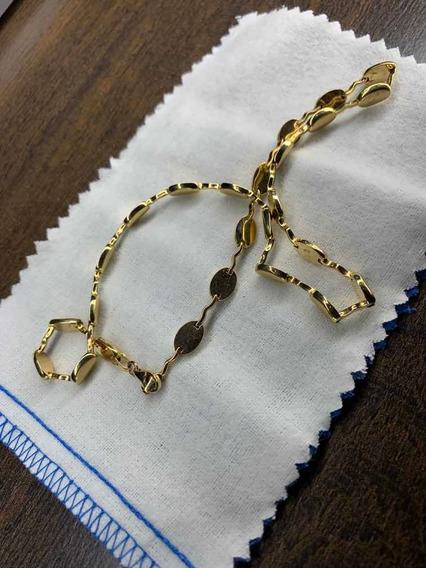 Gargantilla Hechura Especial En Oro Amarillo 14 Kilates