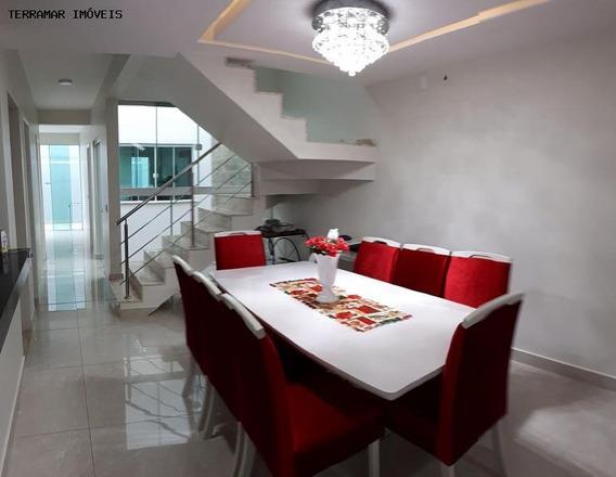 Casa Para Venda Em Cabo Frio, Jardim Excelsior, 3 Dormitórios, 1 Suíte, 2 Banheiros, 3 Vagas - Ci 148