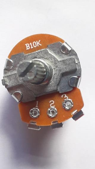 Potenciometro 10 K B10k B 10k Com Liga Desliga