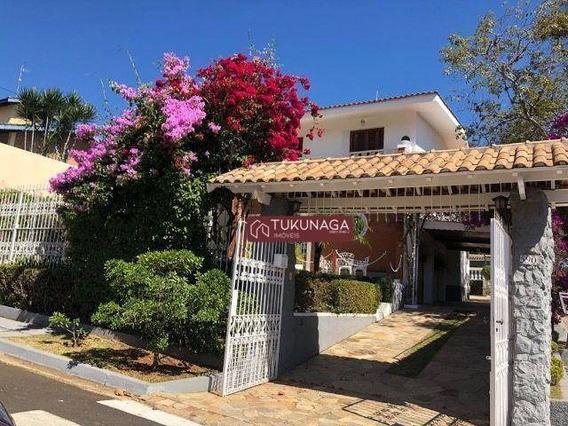 Casa Com 4 Dormitórios Para Alugar, 650 M² Por R$ 7.000/mês - Vila Esperia Ou Giglio - Atibaia/sp - Ca0755