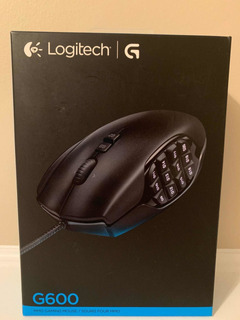 Mouse Gaming Logitech G600