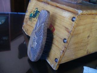 Cepillo Antiguo De Zapatos... M E E N C A N T A T A