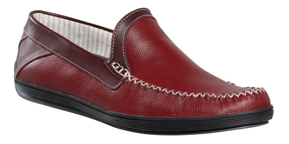 Zapato Mocasin Cuero Hombre Dunlop Relaxed 2747
