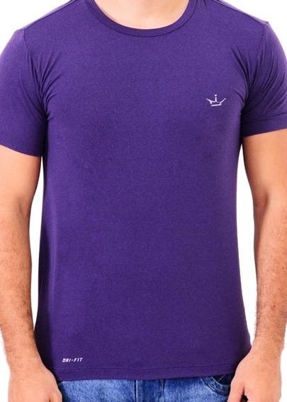 Camiseta Dri Fit 100% Poliamida Uva