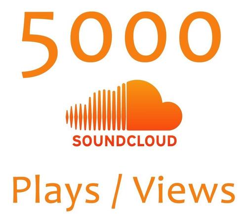 Soundcloud 5000 Plays + Bonus Like E Repost