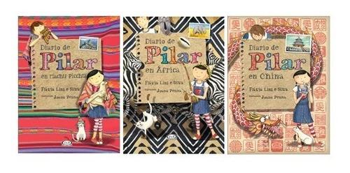 Imagen 1 de 5 de Pack Diario De Pilar (3 Libros) - M Pichu, África Y China