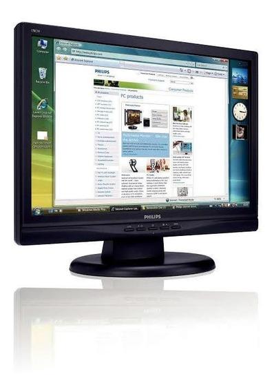 Monitor Lcd 170cw8fb/78   Philips (preço Negociável)