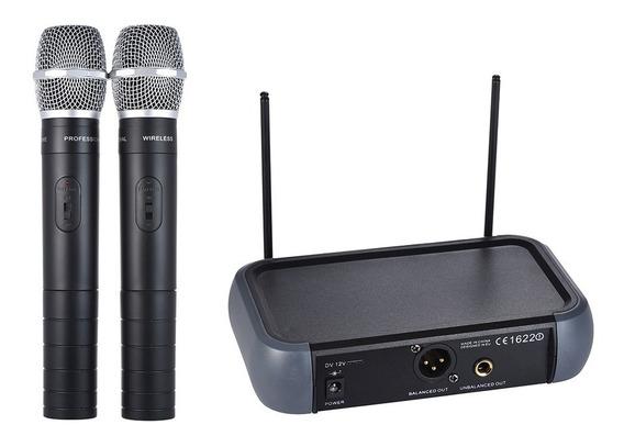 Ammoon Ammo?o Sistema De Microfone De M?o Sem Nos