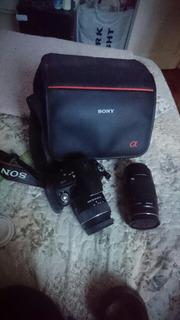 Camara Sony Alpha 390