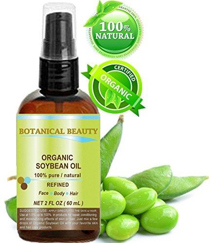 Botanico Belleza Organico Aceite De Soja 100% Puro Para Cara