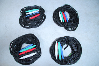 #2- 5-wire Banded Cam Lock Cable 50 -60m