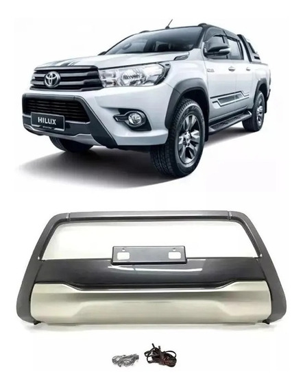 Defensa Bumper Guard Delantera Hilux 2016-2019