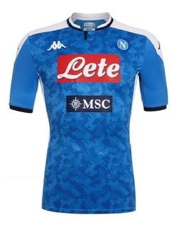 Camisa Oficial Da Napoli 2019/20 Lançamento Com Desconto