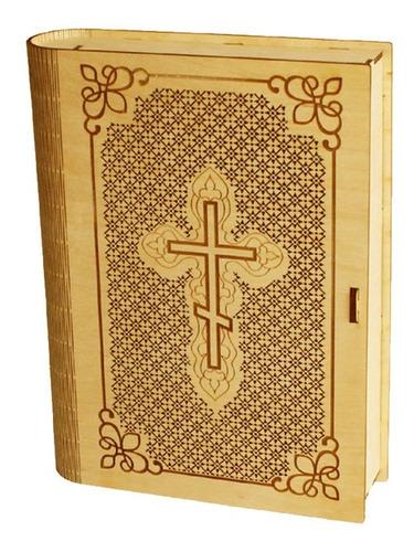 Imagen 1 de 2 de Caja Para Biblia Mdf