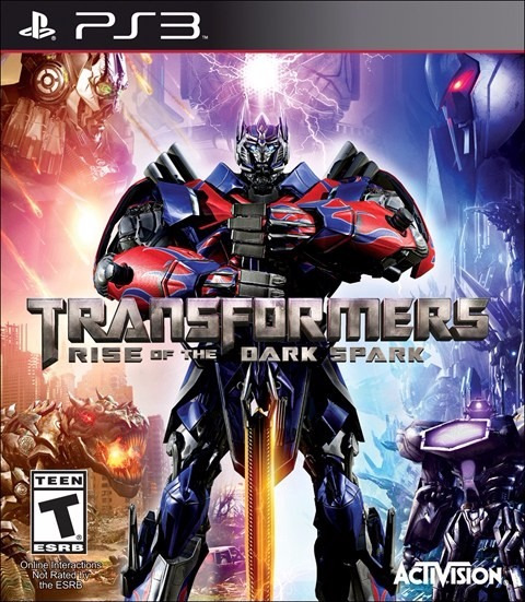 Transformers Ps3 Play 3 Rise Of The Dark Spark Novo