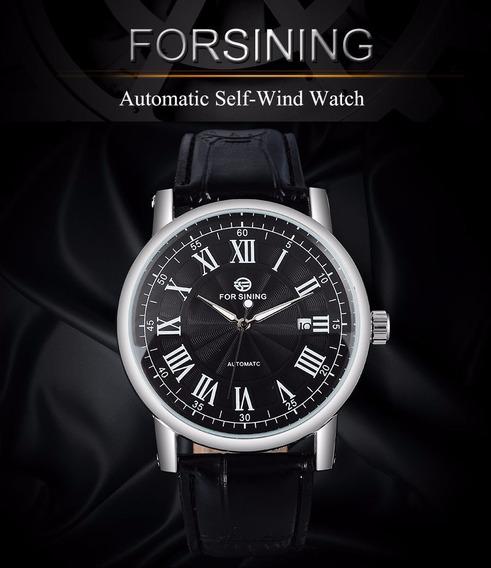 Relógio Forsining Luxo Turbilhão Promoção
