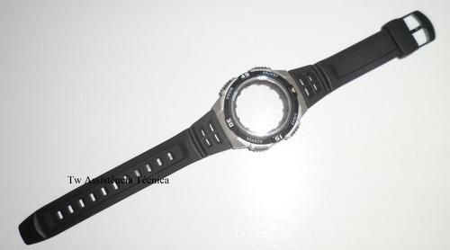 Kit Caixa/pulseira Casio Aq-s800 Original