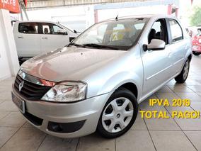 Renault Logan 1.6 Expression Hi-power Ipva Total Pago
