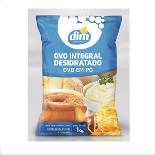 05 Kg De Ovo Integral Desidratado Em Pó - Dim Alimentos