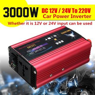 3000 W Dc 12 O 24 V A Ca 220 V Inversor De Energía Del Coche
