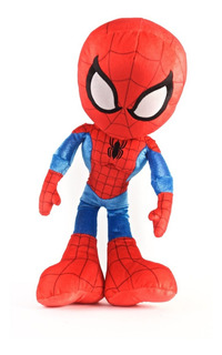 Spiderman Muñeco Peluche 40cm Licencia Marvel Original 27086