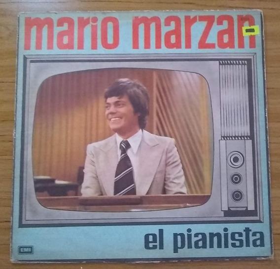 Mario Marzan El Pianista Disco Vinilo Lp