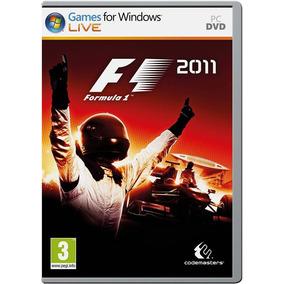 Jogo Fórmula 1 2011 Para Pc Mídia Física