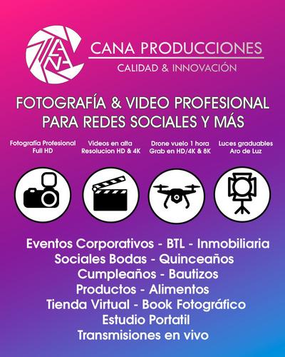 Servicio De Fotografía Y Video Profesional - Redes Sociales