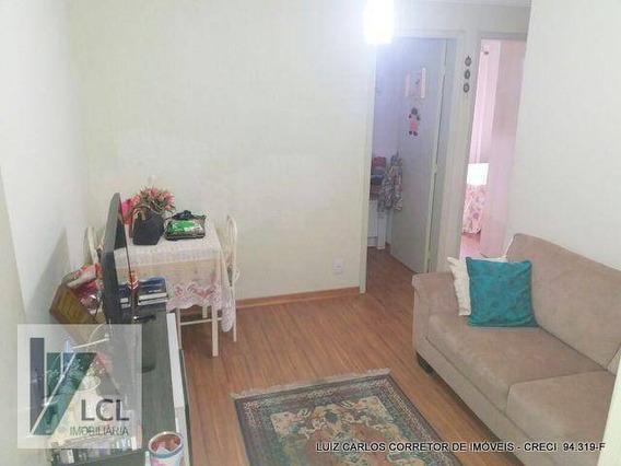 Apartamento Com 2 Dormitórios À Venda, 48 M² Por R$ 170.000,00 - Parque Jane - Embu Das Artes/sp - Ap0076