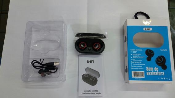 Fone Ouvido Tws Sem Fio Bluetooth Stereo A-w1 - Altomex