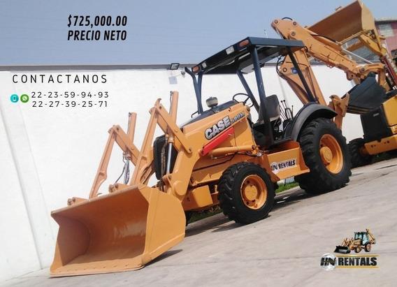 Retroexcavadora Case 580m 4x4 Año2001 Con Kit Precio Neto