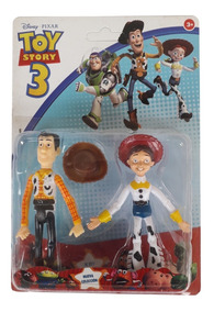 Kit 2 Bonecos Brinquedos Disney Toy Story Lançamento Oferta.