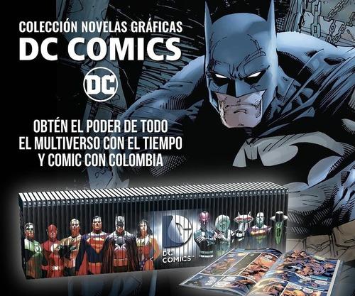Imagen 1 de 5 de Colección Novelas Gráficas Dc Comics El Tiempo (20 Tomos)