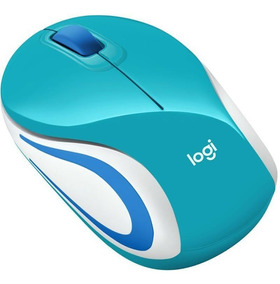 Mouse Mini Logitech M187 Wireless Acqua 910-005363 26965